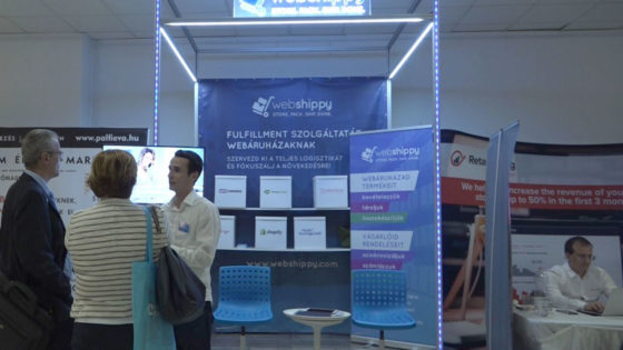 Ecommerce Expo Webshippy Fulfillments Stand