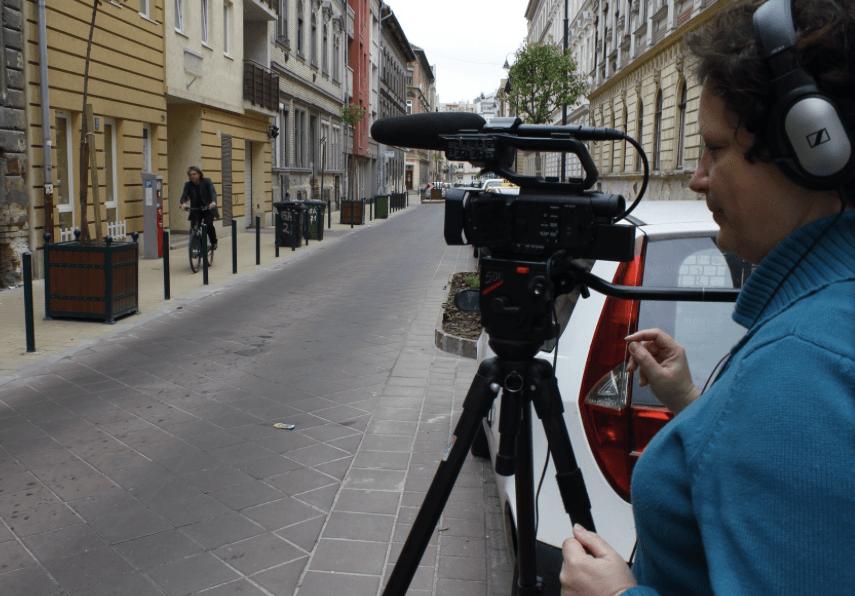 iLandGuide Dokumentumfilm forgatás